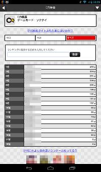 C力検査のゲーム画面4