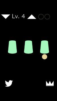 カップシャッフルのアプリ画像1